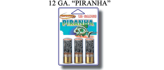 12 gauge piranha 3 round pack g12 021 for 12 ga door breaching rounds