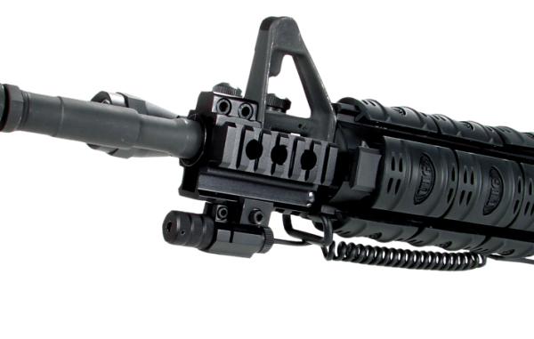 Deluxe Tactical Tri Rail Mount Ar15 M16 Lk425