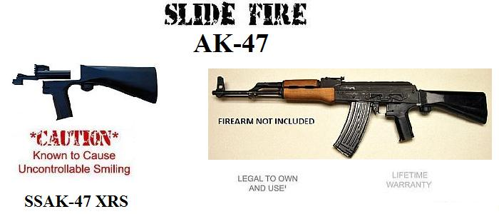 Slide Fire SSAK-47 Bump Fire Stock - Right Hand Model - AB229