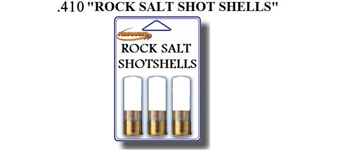 how to make rock salt shotgun shells