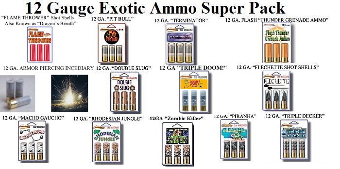 exotic shotgun ammo