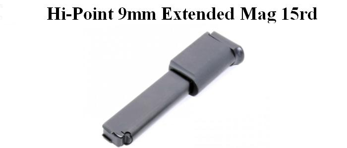 Hi Point 9mm Pistol And Carbine Extended 15rd Magazine Mg715