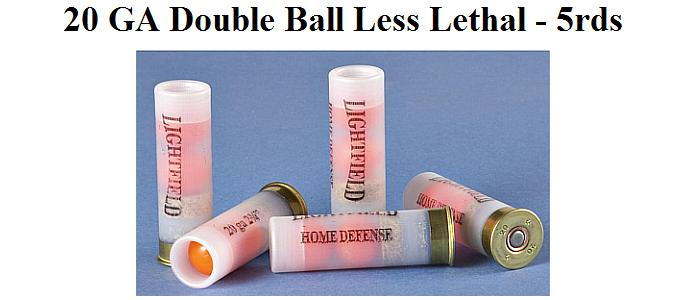 Less Lethal Ammo