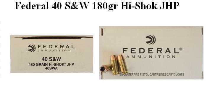 Federal Law Enforcement Ammo