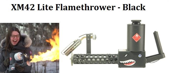 XM42 Generation 3 Flamethrower-Purple Right Handed - XM42B
